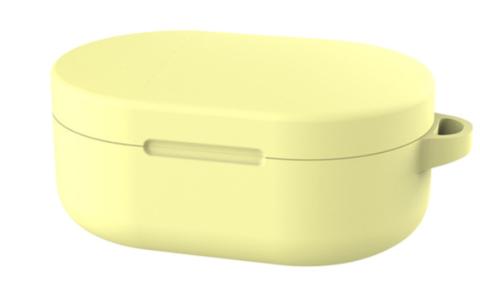 Чехол на Xiaomi Airdots силиконовый (желтый)