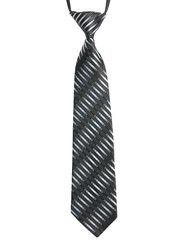 7585-33 галстук черно-белый