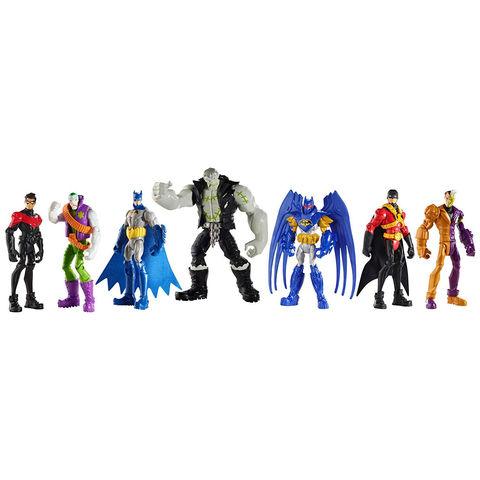 Набор фигурок из 7 фигурок - Бэтмен Подземный Туннель Готем Сити , DC Collectibles