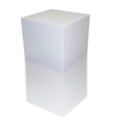 Басловушка Куб ECHOTON FIREPROOF 40x40x40cm   из материала  меламин  BASOTECT белый