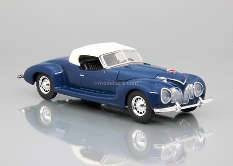 ZIS-101A Sport with awning blue 1:43 DeAgostini Auto Legends USSR Sport #2