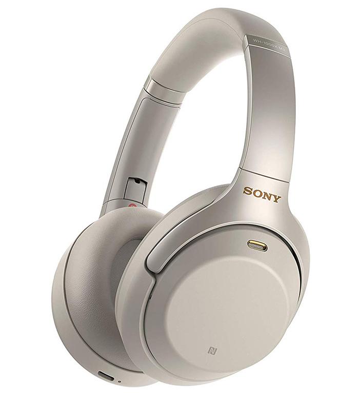 Беспроводные наушники Sony WH-1000XM3S, цвет серебристый