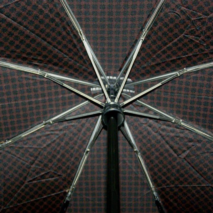 Зонт складной Maison Perletti16229-brown-Geometric