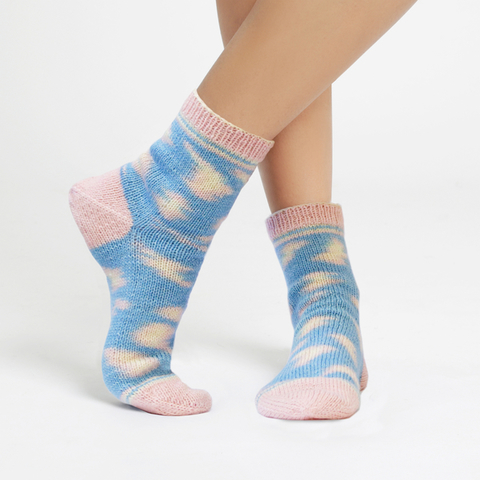 Kinda Magic Sock by Regia and Wool and the Gang