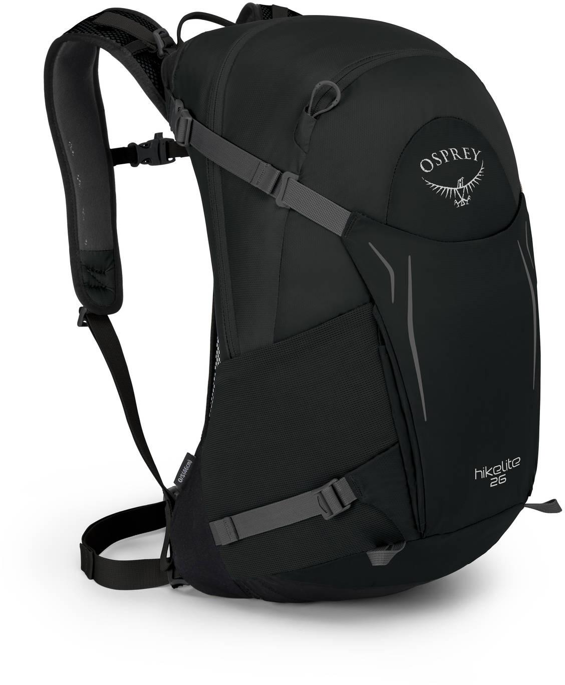 Туристические рюкзаки Рюкзак Osprey HIkelite 26 Black HIkelite26_S18_Side_Black_web.jpg