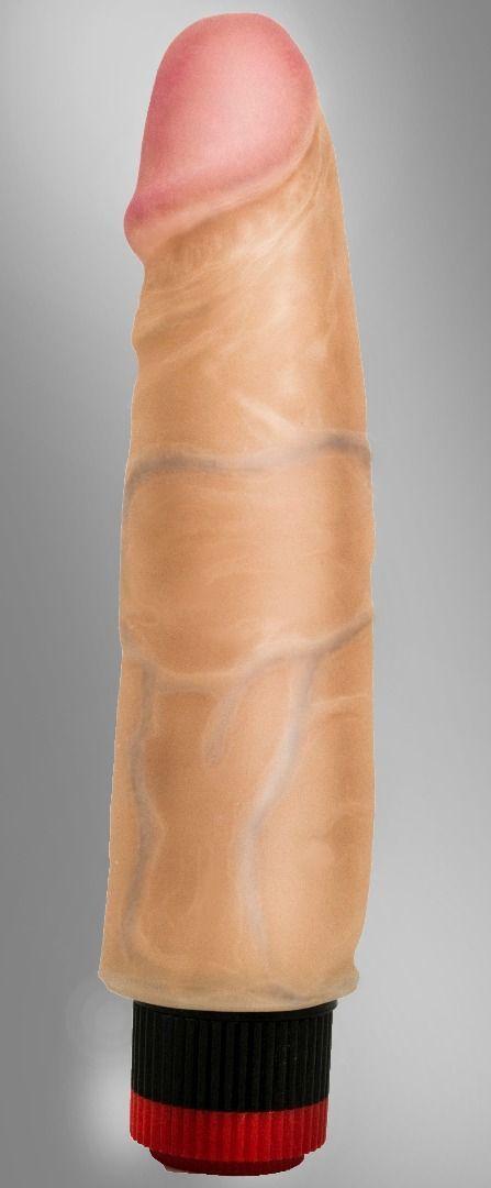 Реалистики: Вибромассажёр-реалистик COCK NEXT 7 - 17,7 см.
