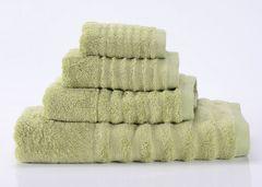 Wellness-9 зеленое  махровое  полотенце Valtery