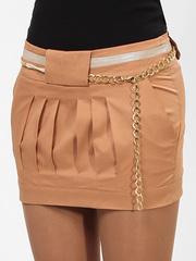 A2075-1 юбка светло-коричневая