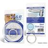 Стальное эрекционное кольцо BlueLine STEEL COCK RING (d. 3,5 см.)