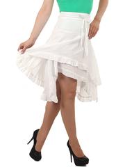 9008-2 юбка кремовая
