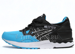 Кроссовки Мужские Asics GEL LYTE V Black Blue Leather