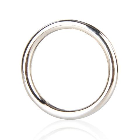 Стальное эрекционное кольцо на член BlueLine STEEL COCK RING (d. 3,5 см.)