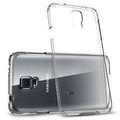 Прозрачный чехол-накладка для Samsung Galaxy S5