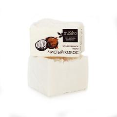 Хозяйственное мыло для посуды Чистый кокос, 175г, ТМ Mi&Ko