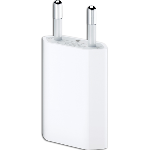 Apple USB Power Adapter MD813ZM/A - мощностью 5 Вт, 1000 мАч.