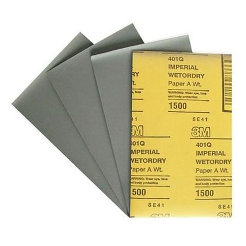 3М Водостойкая наждачная бумага  Р 1500 (арт 02048)