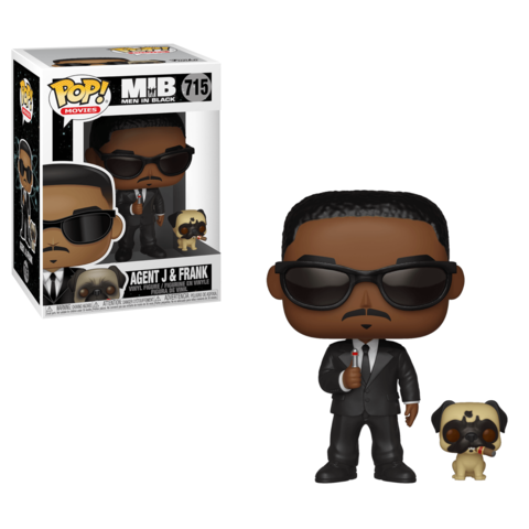 Фигурка Funko POP! Vinyl: Men In Black: Agent J & Frank 37664