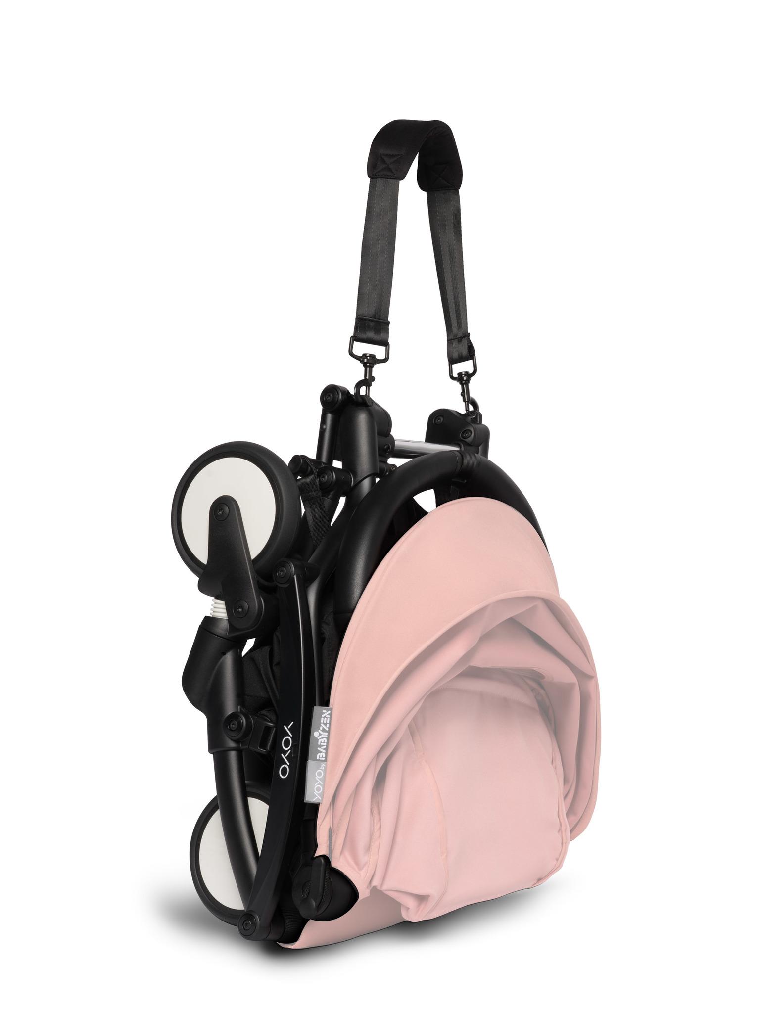 Коляска прогулочная BabyZen YOYO2 черное шасси без текстиля