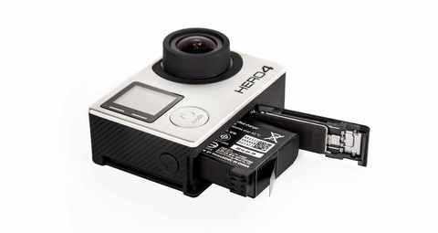 Литий-ионный аккумулятор для камеры GoPro Rechargeable Battery (HERO4) в камере