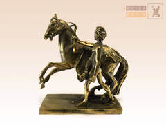 статуэтка Аничков мост, кони Клодта (большая вар. 4)