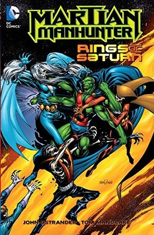 Martian Manhunter: Rings of Saturn