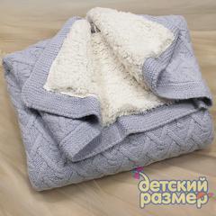 Одеяло (велсофт, вязка)
