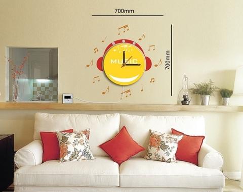 Светильник-часы 8*0,5W LEDs 5730smd с USB-проводом ( 5V адаптор в комплект не входит); 1*AA батарея ( в комплект не входит), NL70 (Feron)