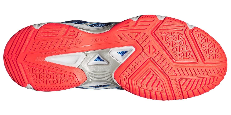 Женские волейбольные кроссовки с высоким голеностопом Asics Gel-Beyond 4 MT (B453N 4793) синий