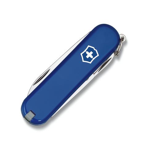 Нож-брелок Victorinox Classic, 58 мм, 7 функций, синий*