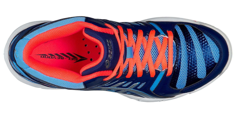 Женские высокие волейбольные кроссовки Asics Gel-Beyond 4 MT (B453N 4793) синий