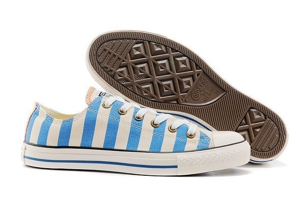 CONVERSE CHUCK TAYLOR ALL STAR LOW STRIPED BLUE (014)