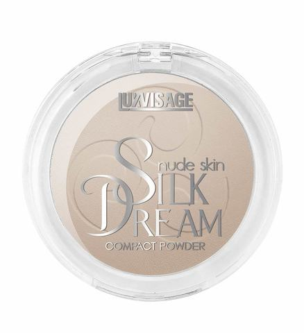 LuxVisage Silk Dream nude skin Пудра компактная тон 6 (Натуральный)