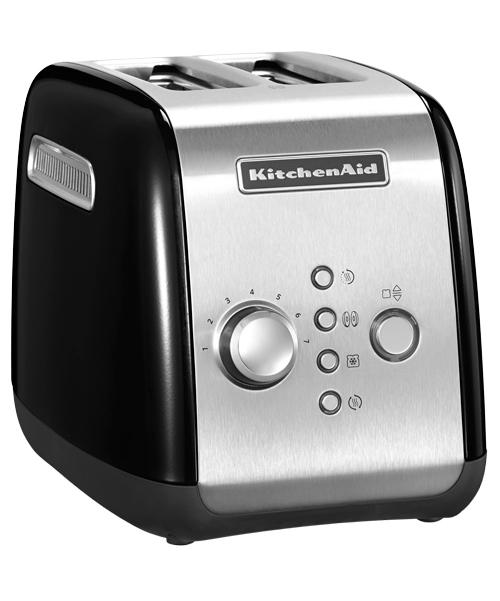 KitchenAid Тостер на 2 хлебца, черный, арт.5KMT221OB