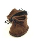 Ботиночки из фетра - Коричневый. Одежда для кукол, пупсов и мягких игрушек.