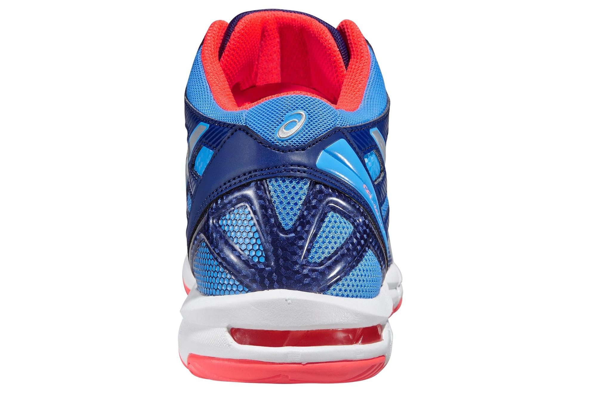 Женские кроссовки для волейбола с высоким голеностопом Asics Gel-Beyond 4 MT (B453N 4793) синий