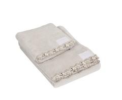 Набор полотенец 2 шт La Perla Petit Maison серый