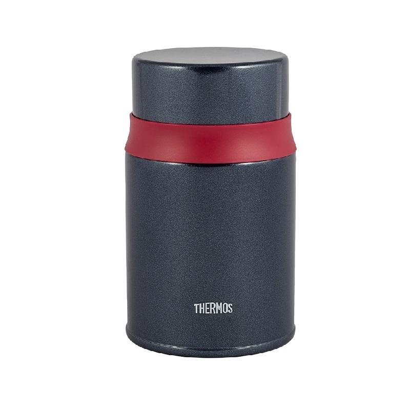 Термос для еды с ложкой Thermos TCLD-520S (0,52 литра), черный