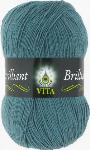 Пряжа Vita Brilliant голубая дымка 5116