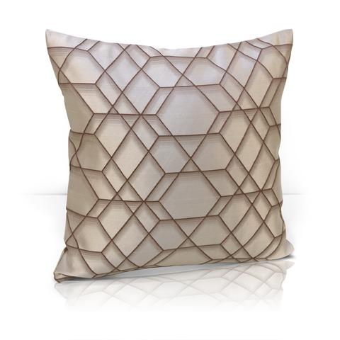 Подушка Алмаз коричневый