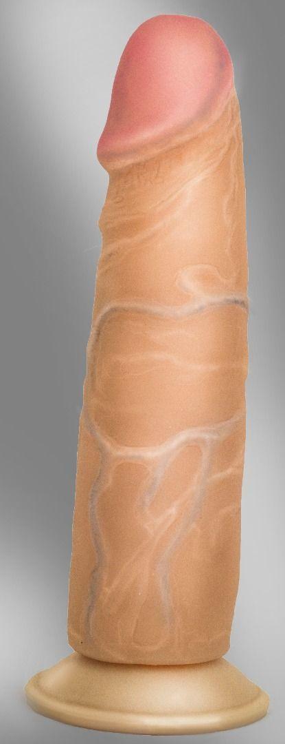 Реалистичные: Фаллоимитатор на присоске COCK NEXT 7 - 17,7 см.