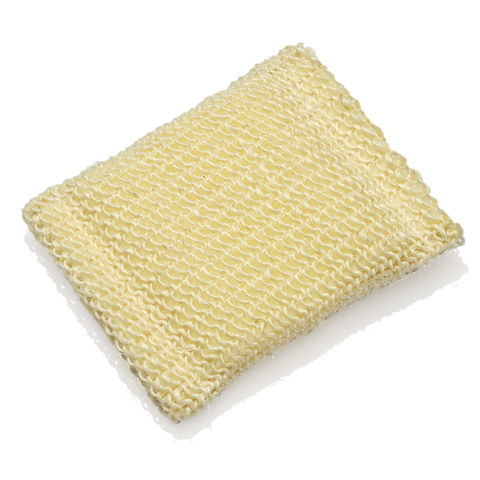 Мочалка-брикет массажная жесткая из натурального волокна (сизаль)