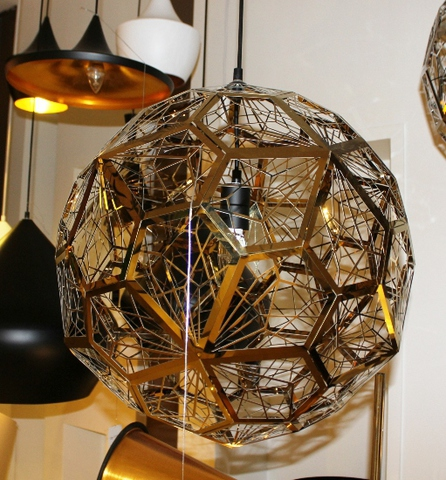 replica Etch Web pendant lamp (copper)