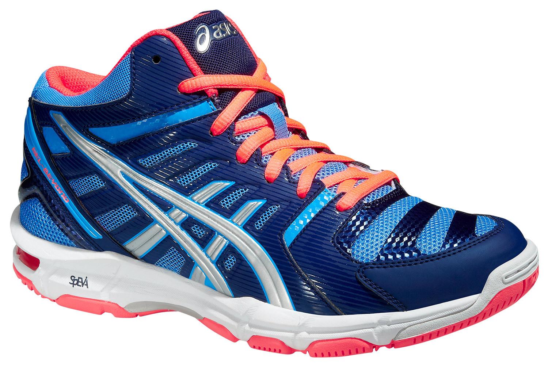 Женские волейбольные кроссовки Asics Gel-Beyond 4 MT (B453N 4793) синий