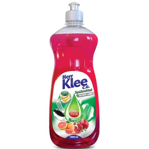 Herr Klee C.G. гель для мытья посуды Красный гранат и Апельсин 1 л.