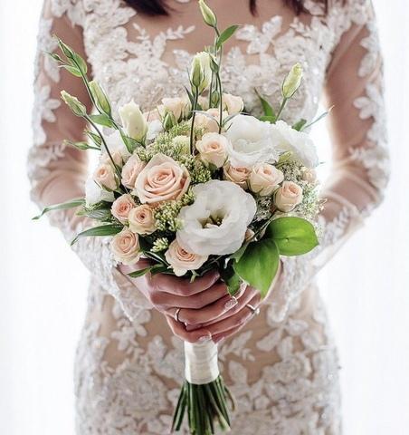 Свадебный букет #436