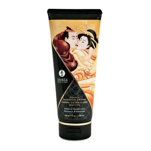 Массажные масла и свечи: Массажный крем для тела с ароматом миндаля Almond Sweetness - 200 мл.
