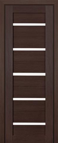 > Экошпон Profil Doors №7X-Модерн, стекло матовое, цвет венге мелинга, остекленная