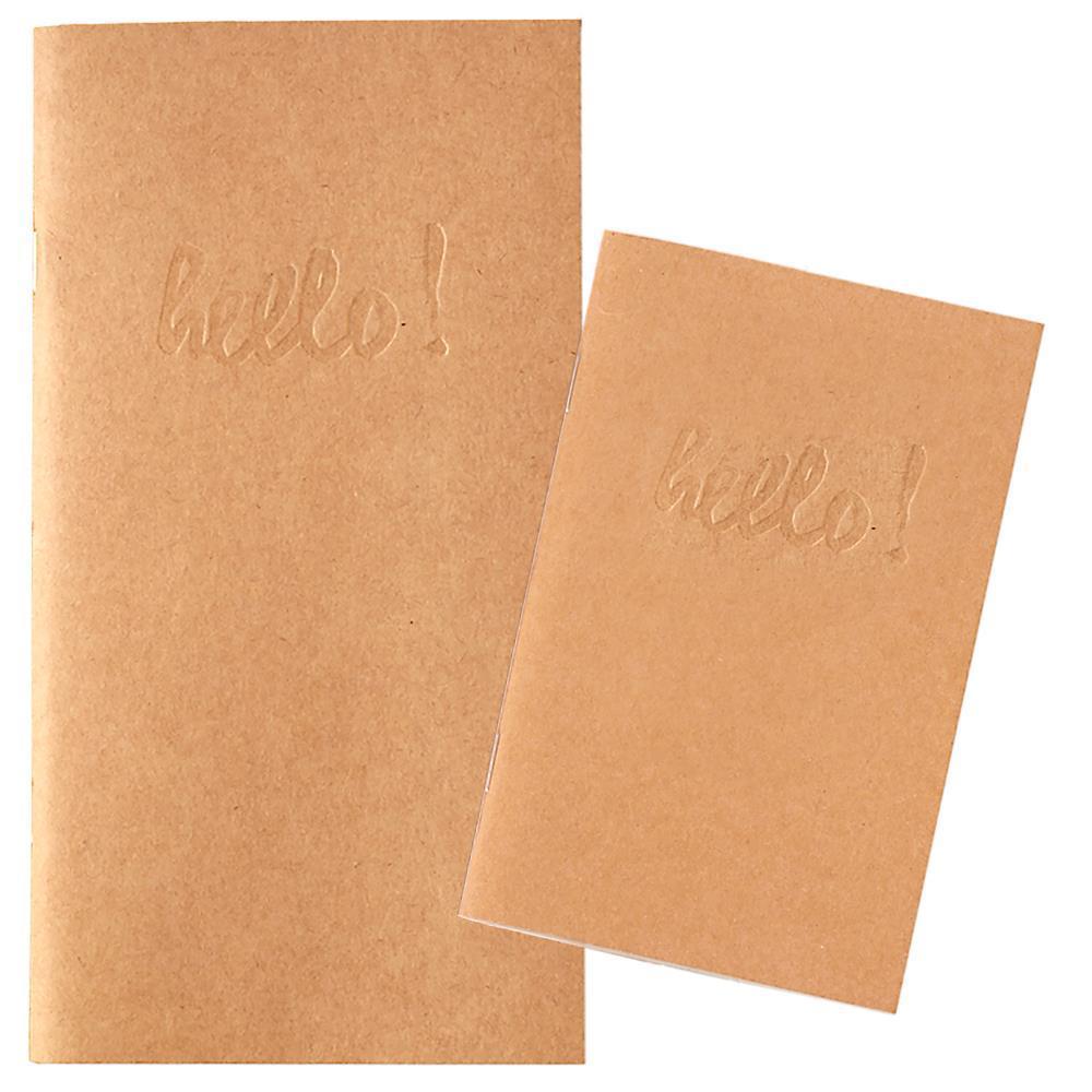 Записные блокноты Color Crush Traveler's Planner Notebooks - 2 шт. Kraft