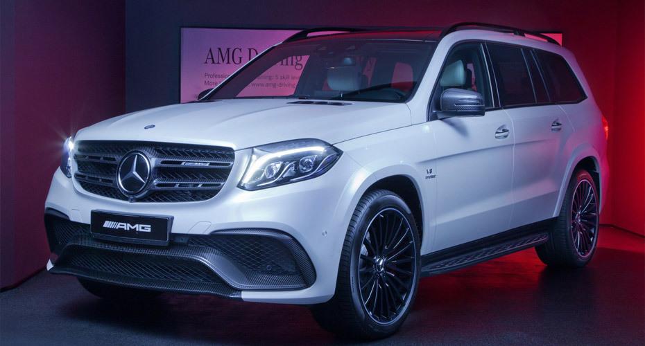Обвес AMG для Mercedes GLS X166