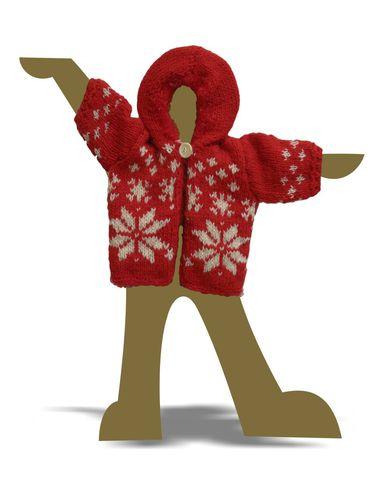 Вязаный удлиненный жакет с капюшоном - Демонстрационный образец. Одежда для кукол, пупсов и мягких игрушек.